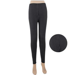 18ab3d3890f28 white stripes print black lularoe leggings for women