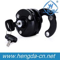 New MTB road Bike Bicycle Anti Theft Lock Foldable Chain Lock Hamburg Lock with key