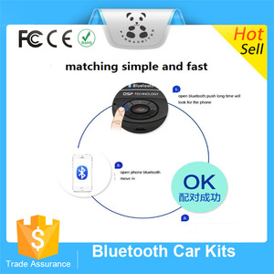 High Performance Steering Wheel Bluetooth Wireless Cars Accessories Radio Adapter Handsfree Bluetooth Car Kit