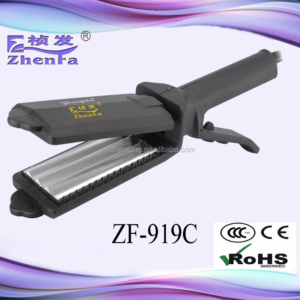 2016 new fashion hair dryer electric flat iron ZF-919C