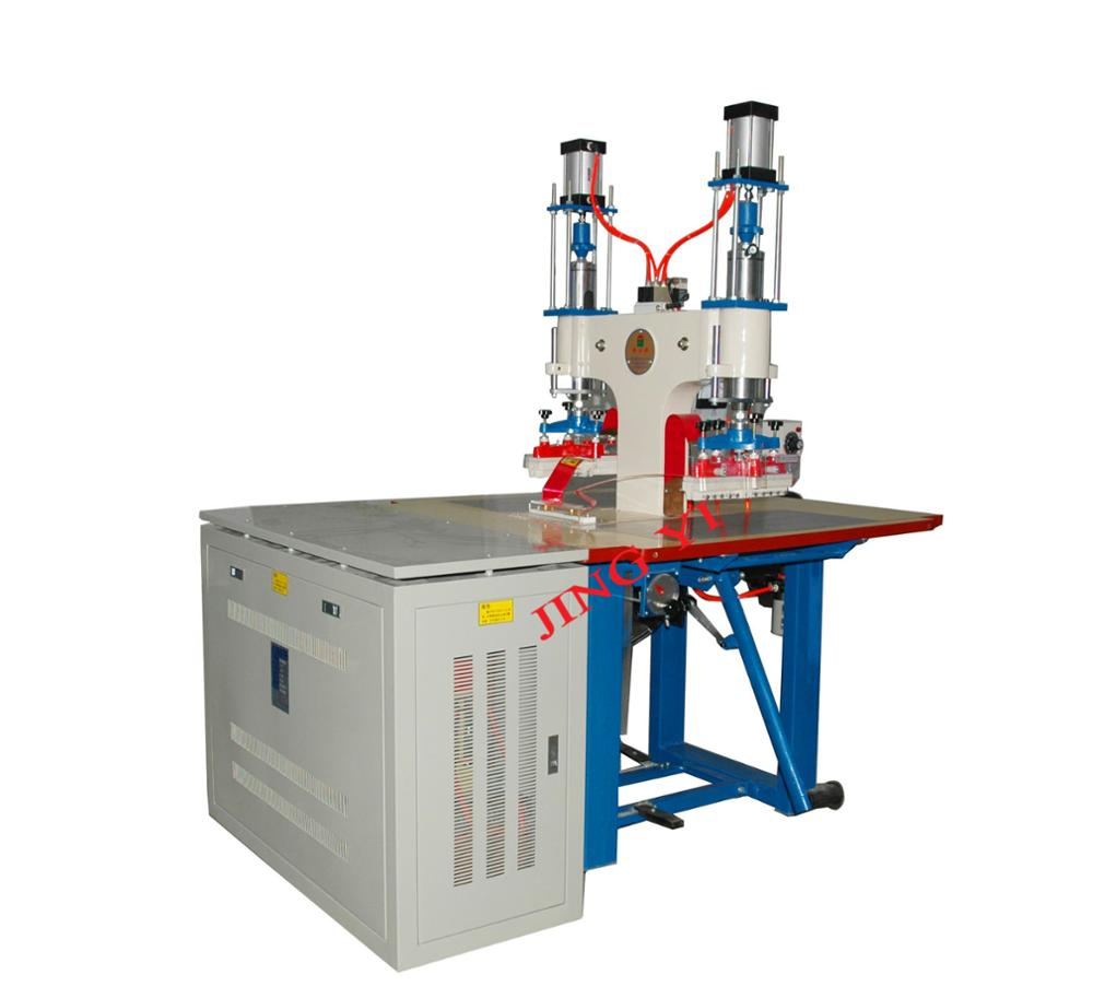 CE Certificate 5KW Double Heads PVC Reflective Film High Frequency Welding Machine Manufacturer