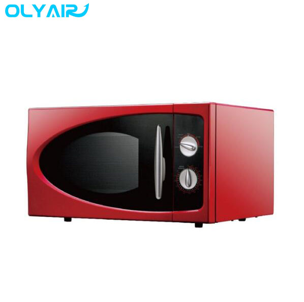 Retro red Royal microwave oven 25L digital electric microwave oven R608