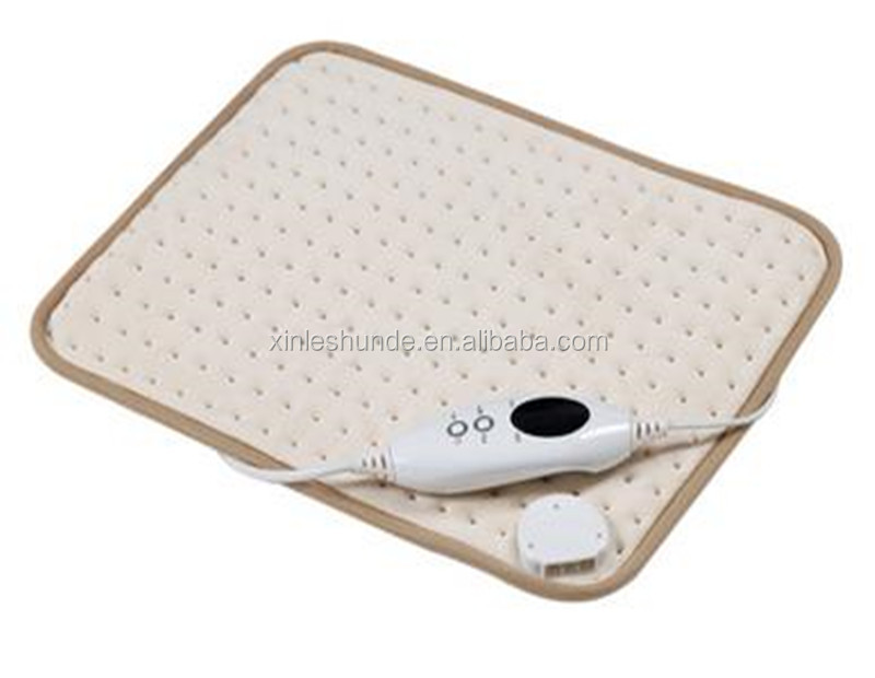 China Cheapest heating pad/electric warming pad/electrically heated pad