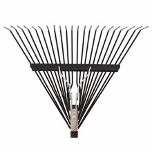 best selling telescopic aluminum handle rake with good quality