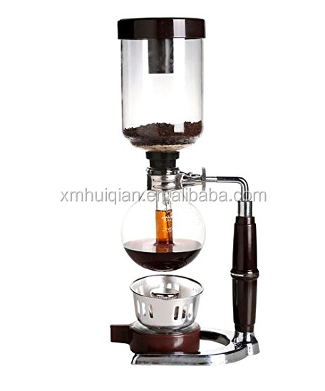 New design water drop 2/3/5 cup espresso machine syphon coffee maker, N/a