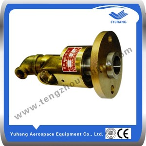 Copper coolant rotary joint, water swivel joint, rotary air union