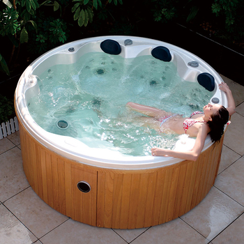HS 097 Redetube Outdoor Round Whirlpool Hot Tub