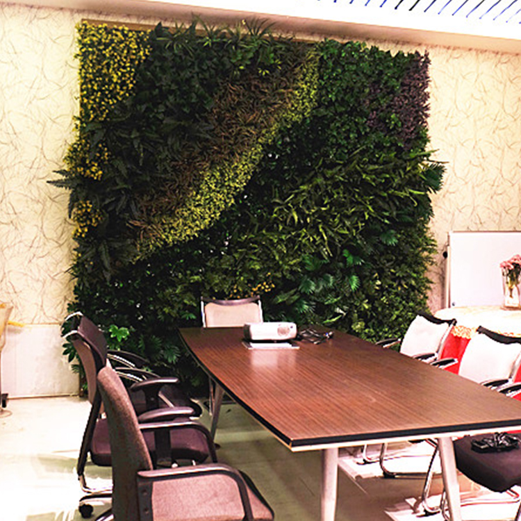 Artificial Plant Wall Artificial Grass Wall For Garden Decoration