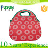 Neoprene Waterproof Lunch Tote Print Bag With Handle