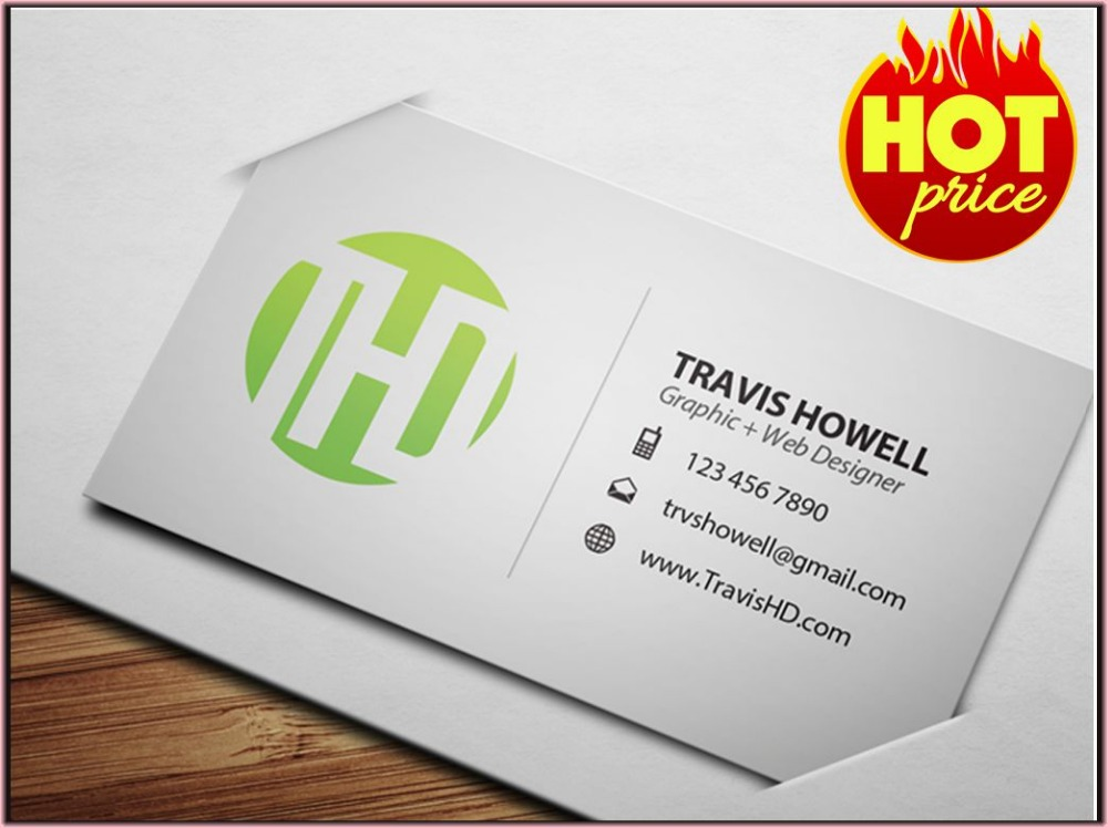 Custom Paper Business Card/name Card/calling Card - Buy Custom ...