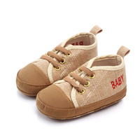 Wholesale 8 colors cheap canvas unisex toddler baby shoes directly factory