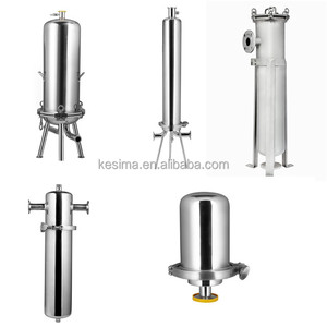 Good stainless steel industrial filter housing for Spirits, destillates, liquors filtration