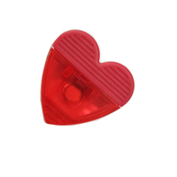 Plastic magnetic Heart Power Clip for promotional gifts