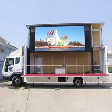 maxv technology products outdoor vms trailer mobile advertising trucks led display truck