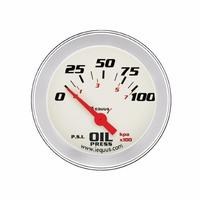 Oil Pressure Voltage Water Temperature 2-1/16