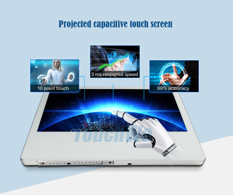 Popular 21.5 inch android RK3288 NFC card reader for school education