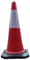 100cm cheap PE road warning traffic cone