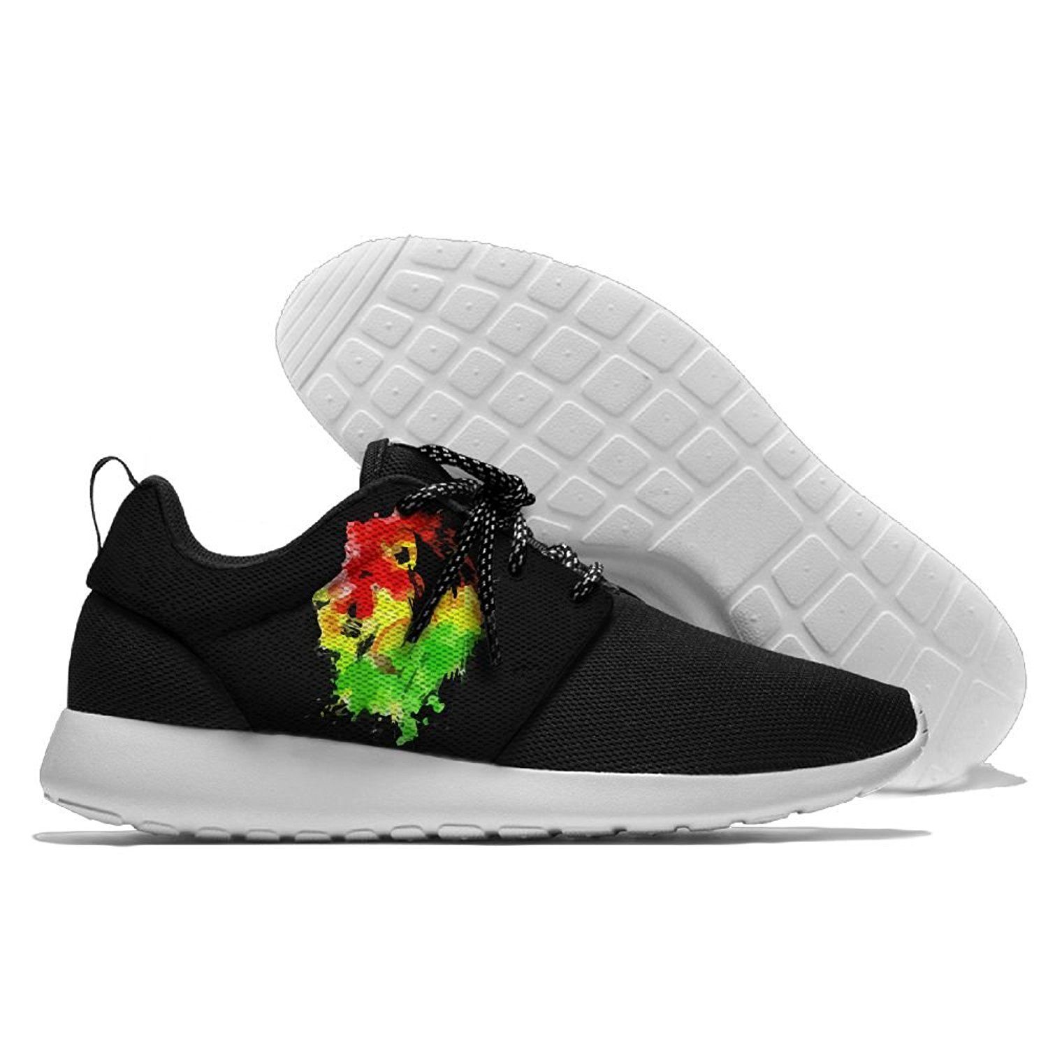 ae957111d20fe Get Quotations · Lion Rasta Fashion Unisex Running Shoes Casual Sports Shoes  Fashion Sneakers