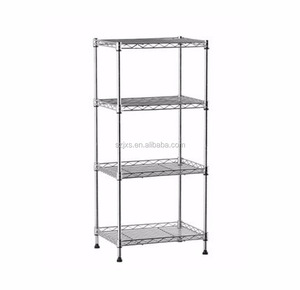4-tire bathroom wire shelf receive console sitting room tidy frame wrought iron shelf in the kitchen