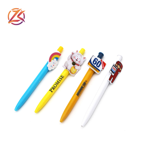 Promotional cheap customized clip printed plastic ball pen ballpoint pen