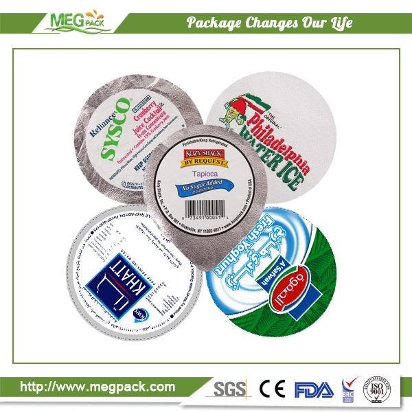 Embossed Aluminum Foil Lid for Jelly / Embossed Foil Lid / Embossed Foil Cover