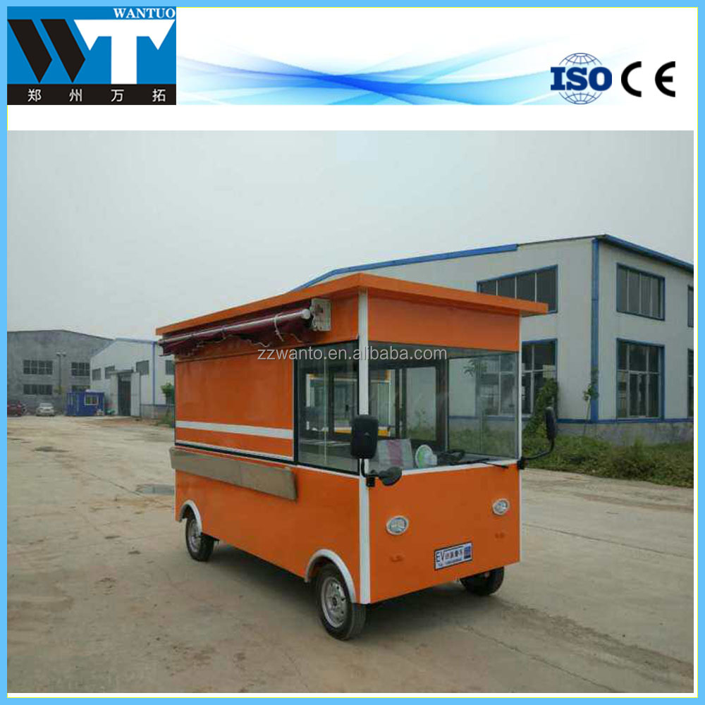 Hot sales mobile food cart business franchise