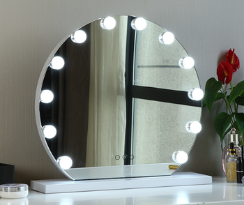Dimmable Hollywood Mirror With Light Bulbs Makeup Vanity Mirror 6 9 12 15 Bulbs Led Lighting Mirror Buy Hollywood Vanity Mirror Hollywood Makeup