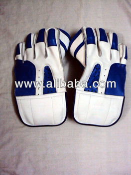 Custom Made Cricket Wicket Mantendo Luvas