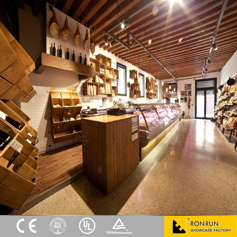 Classic bakery and coffee shop interior design and display for Bakery shop interior decoration