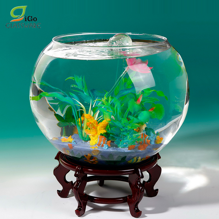Decoration Round Glass Fish Tank Aquarium With Accessories Buy Round Fish Tank Round Glass Aquarium Aquarium Accessories Product On Alibaba Com