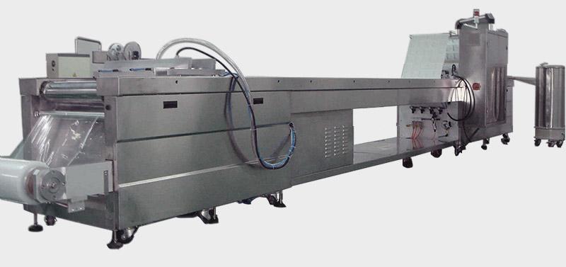 DPB-420 เข็มฉีดยา pvc blister บรรจุภัณฑ์เครื่อง
