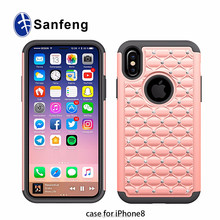Top 5 Factory In China Smart Phone Case For iPhone 8/iphone X Back Cover