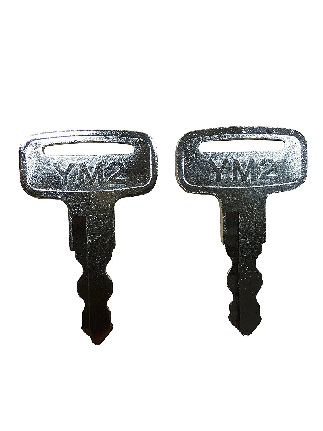 (2) Yamaha Golf Cart Keys - OEM Replacement for G14,G16,G19,G22,G29/Drive Gas/Electric Golf Cars - 2 Pack
