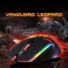 Motospeed V20 5000DPI 7 Buttons LED Optical Wired Gaming Mouse