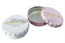 round metal pill tin case and cans wholesale