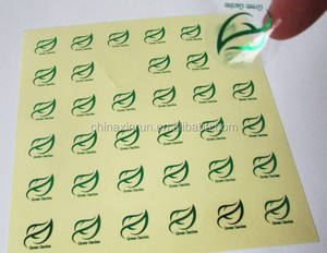 Customized sticker PVC Vinyl waterproof Die cut adhesive stickers