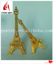 European 3D puzzle model Eiffel Tower building