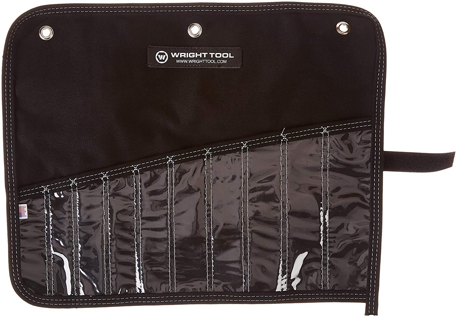 "Wright Tool 751-ROLL Denim Tool Roll - 18"" x 14-3/8"" - 10 pockets"