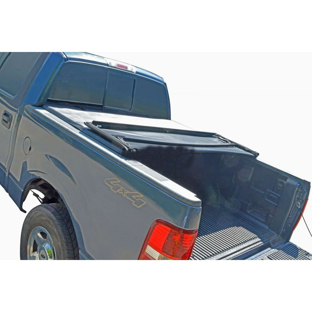 Fits-Tonneau Cover Soft Tri Fold for Toyota Tacoma Pickup Truck 6ft Short Bed