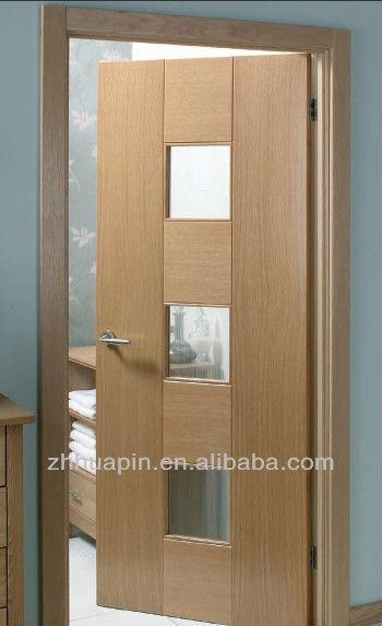 Interior Wood Glass Door Turkish Wooden Diamond Glass Interior