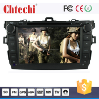 Car dvd player for Toyota 2010 Corolla with Android system Bluetooth/TV/AM/FM With Wince 6.0 system