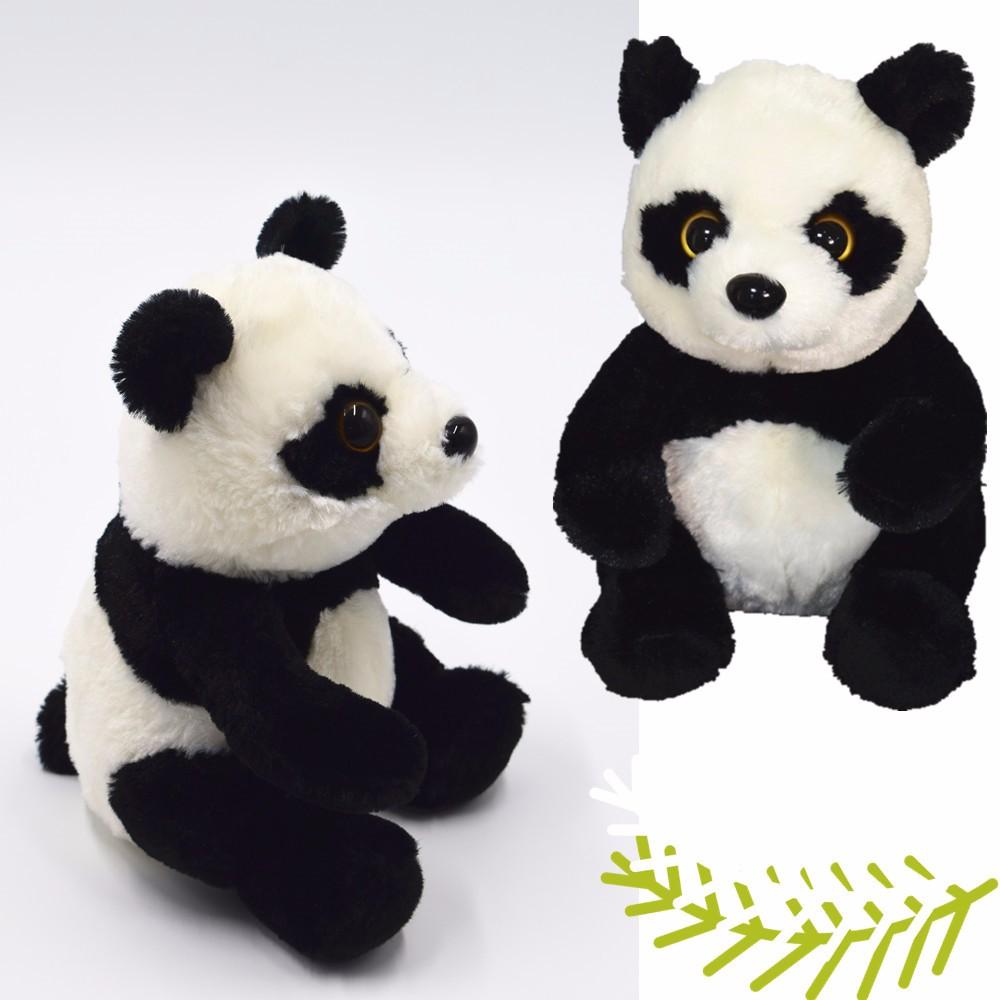 Lucu Mewah Boneka Panda Boneka Beruang Dengan Logo Pelanggan Buy