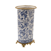 Most Popular NEW Design Luxury Antique Bronze Porcelain Home Decoration blue and white Vase