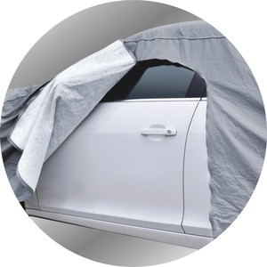 waterproof car cover waterproof zipper door car cover with CE certificate