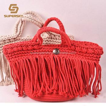 A712 Crochet Disenador Bolsa De Playa Bolso De Ganchillo Hecho A Mano Bolsas De Buy Crochet Disenador Bolsa Patron Playa Crochet Bolsa