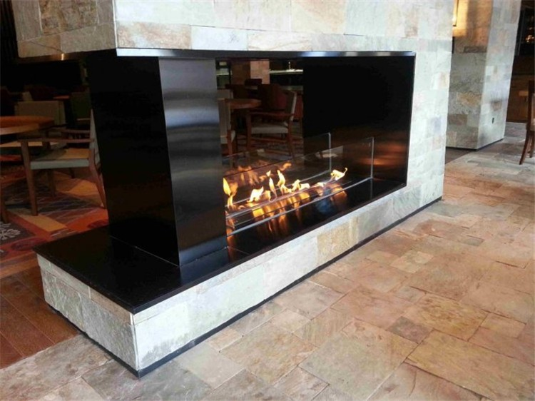 Intelligence Remote Bio Ethanol Fuel Fireplace No Wood