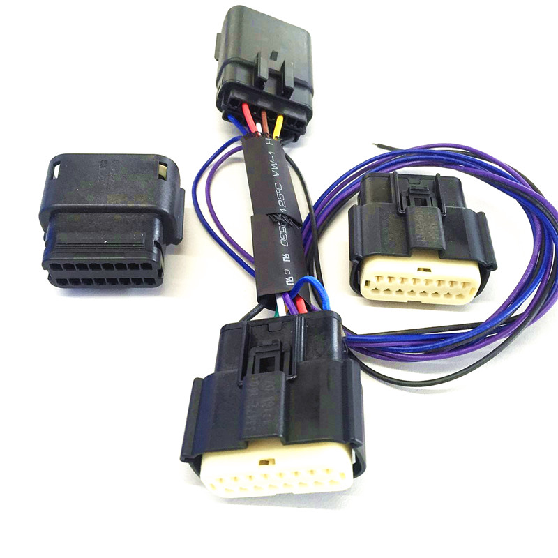Universial male female iso connector plug adapter automotive car iso wire harness