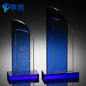 Wholesale custom crystal corporate plaques awards and trophies