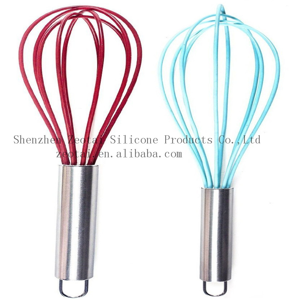 silicone egg beater seen on tv/silicone egg mixing tool egg beater