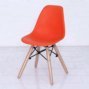 preschool kids children plastic solid wood chairs